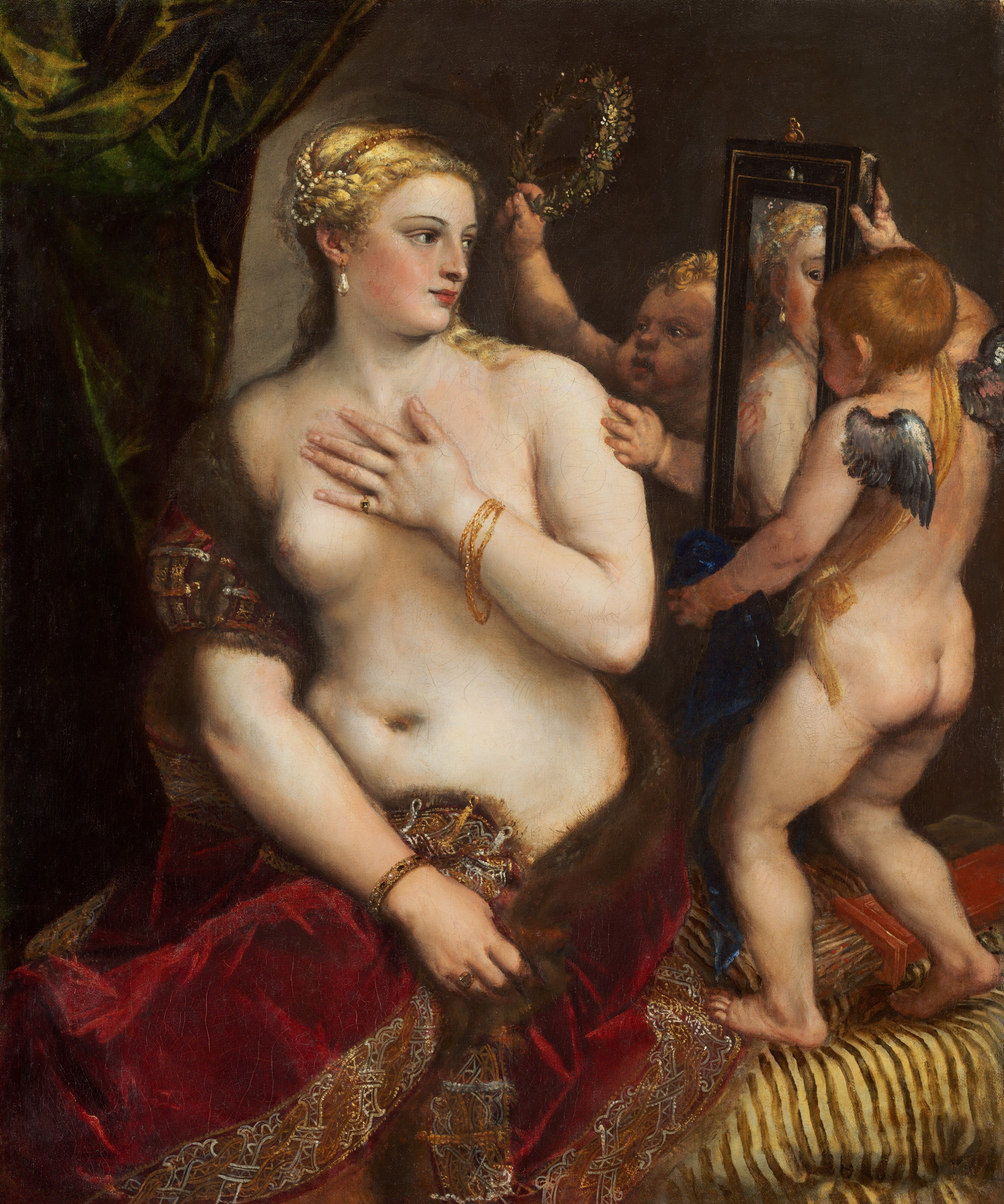 """Venus with a Mirror"" Titian c.1555"