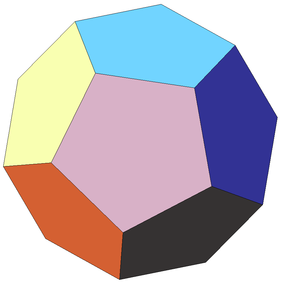 Image of regular dodecahedron