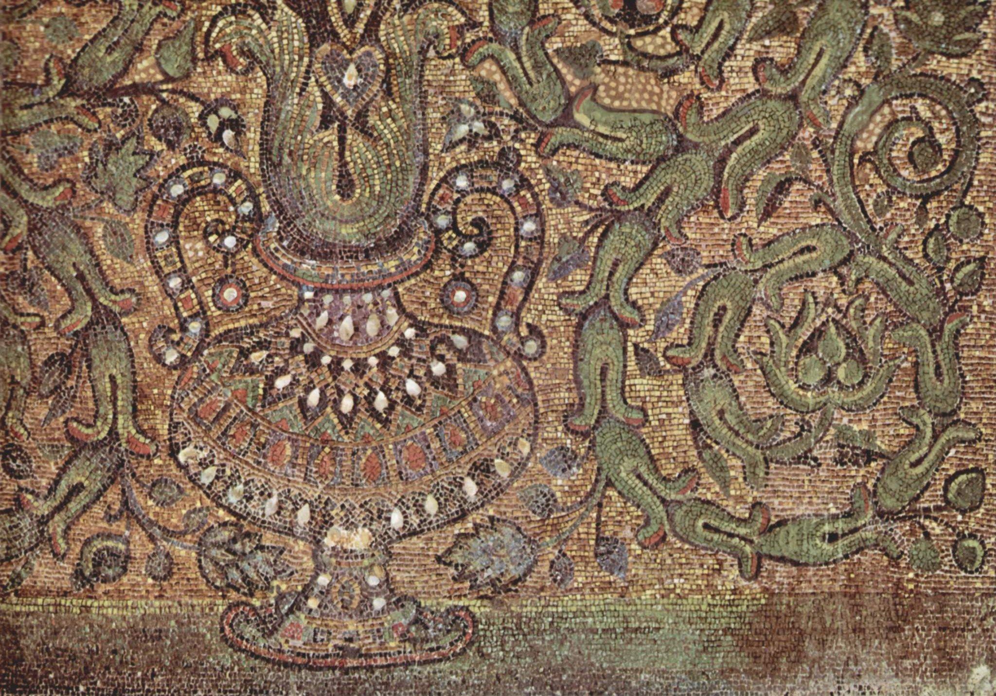 Arabesque Byzantine times, 680.