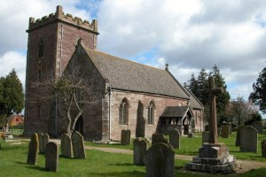 Photo of St Michael and All Angels parish church, Kingstone, Herefordshire