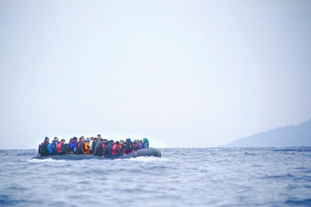 Mediterranean refugees Libyan Coastguard