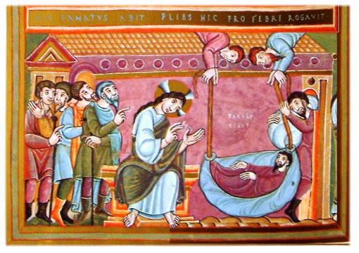 'Healing of the Paralytic'    Image credit: Wikipedia.com