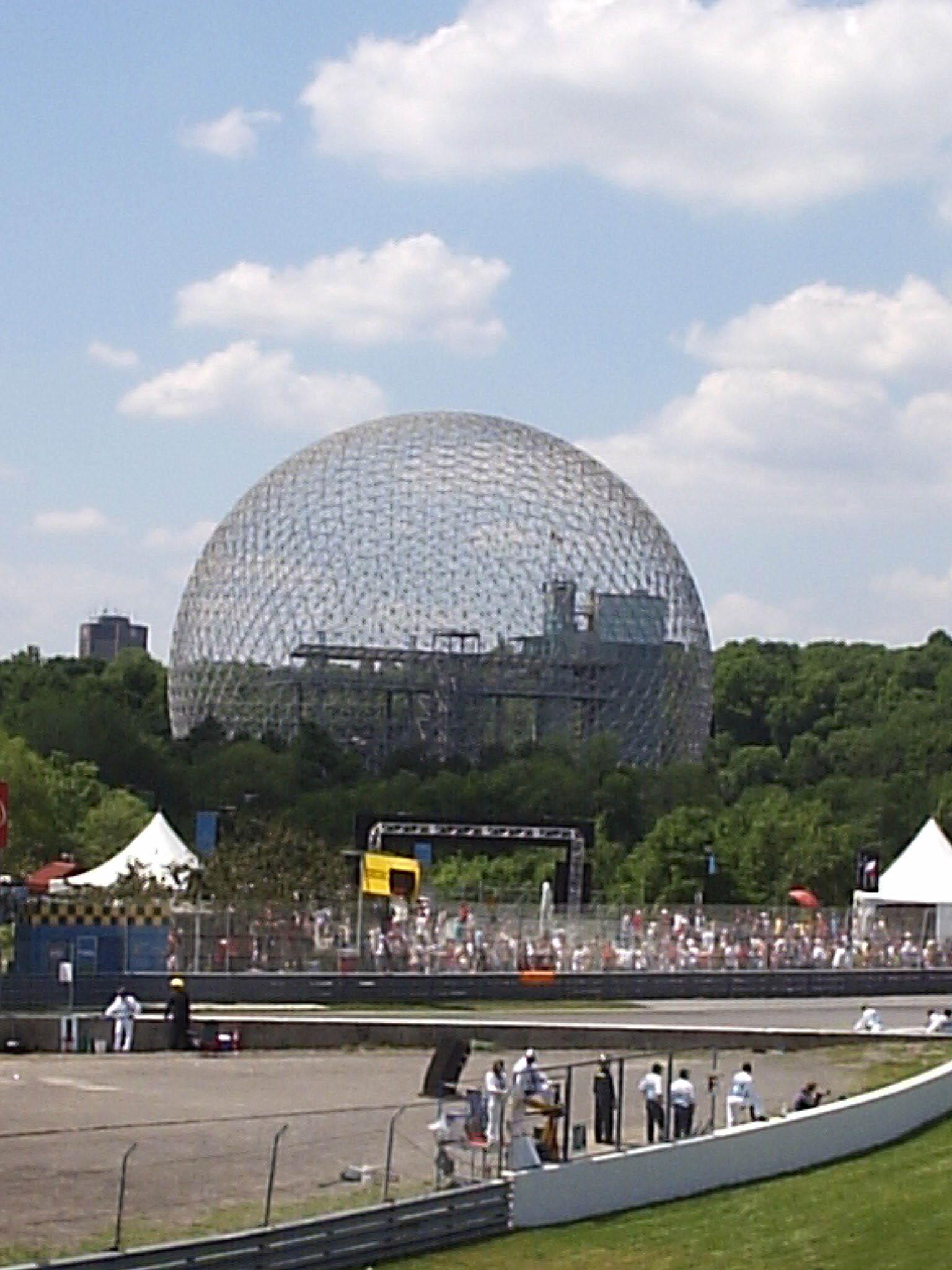 Buckminster Fuller Geodesic Dome, Montreal fro...