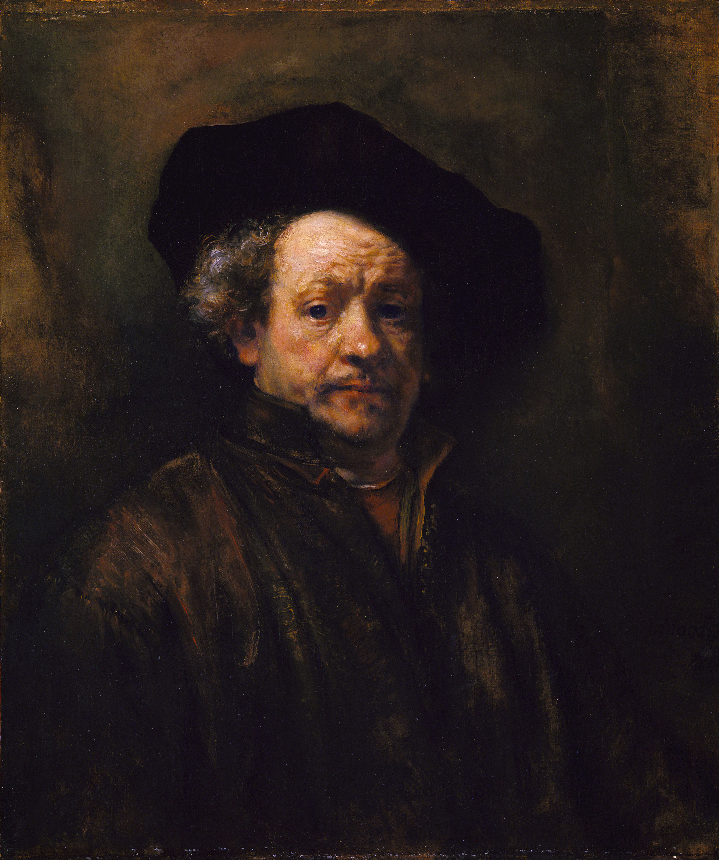 Rembrandt: Self Portrait (Altman)