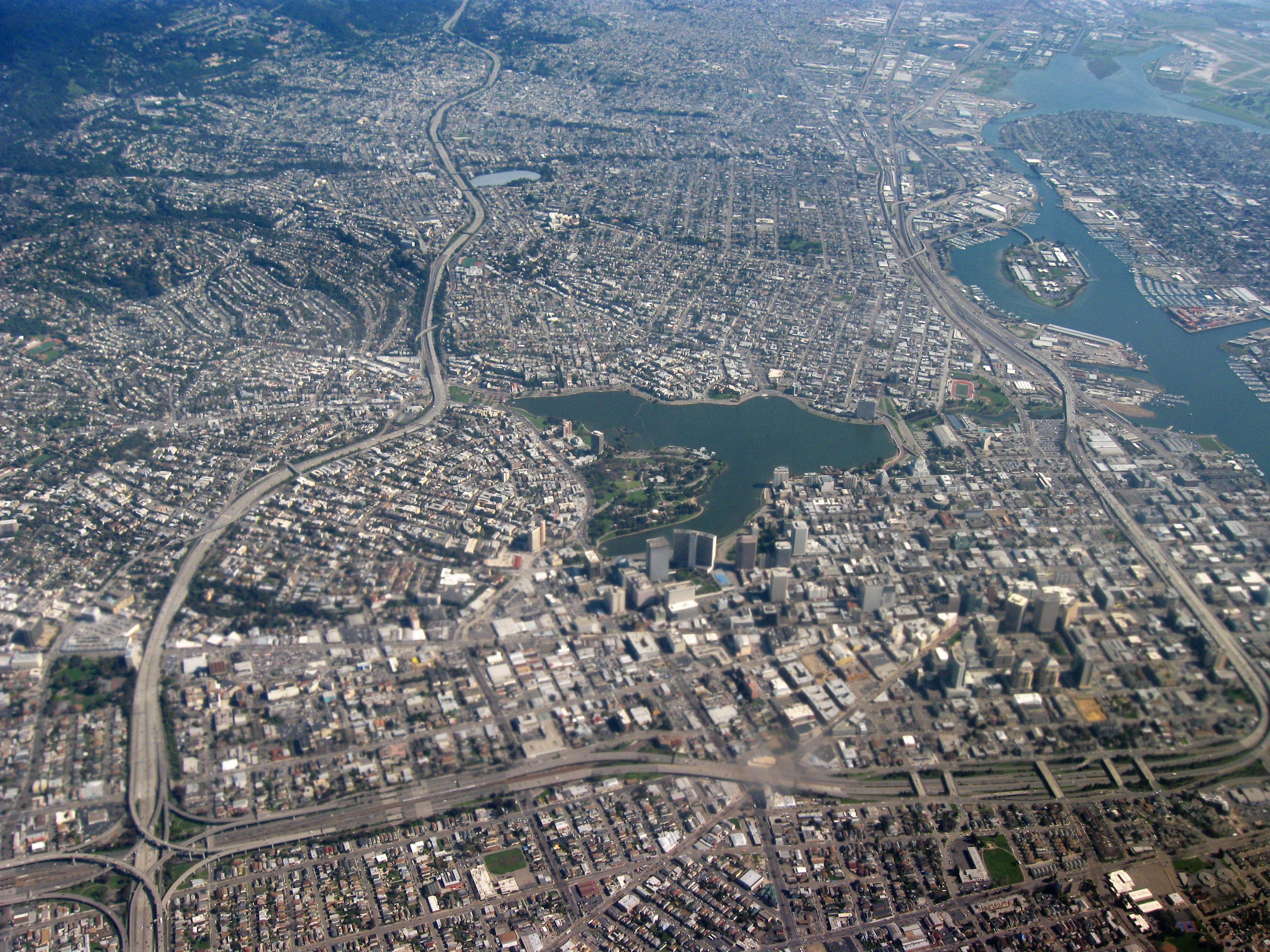 FileAerial View Of City Of Oakland 1jpg Wikimedia Commons