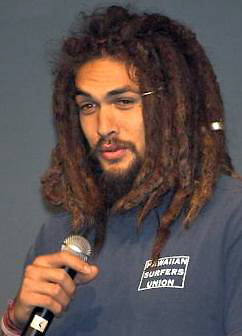 Jason Momoa at Wolf Pegasus One, London, 2006