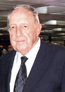 Peter Roman Scholl-Latour im Holocaustleugnerland Iran - Merhabad International Airport Tehran, Iran in August 2006