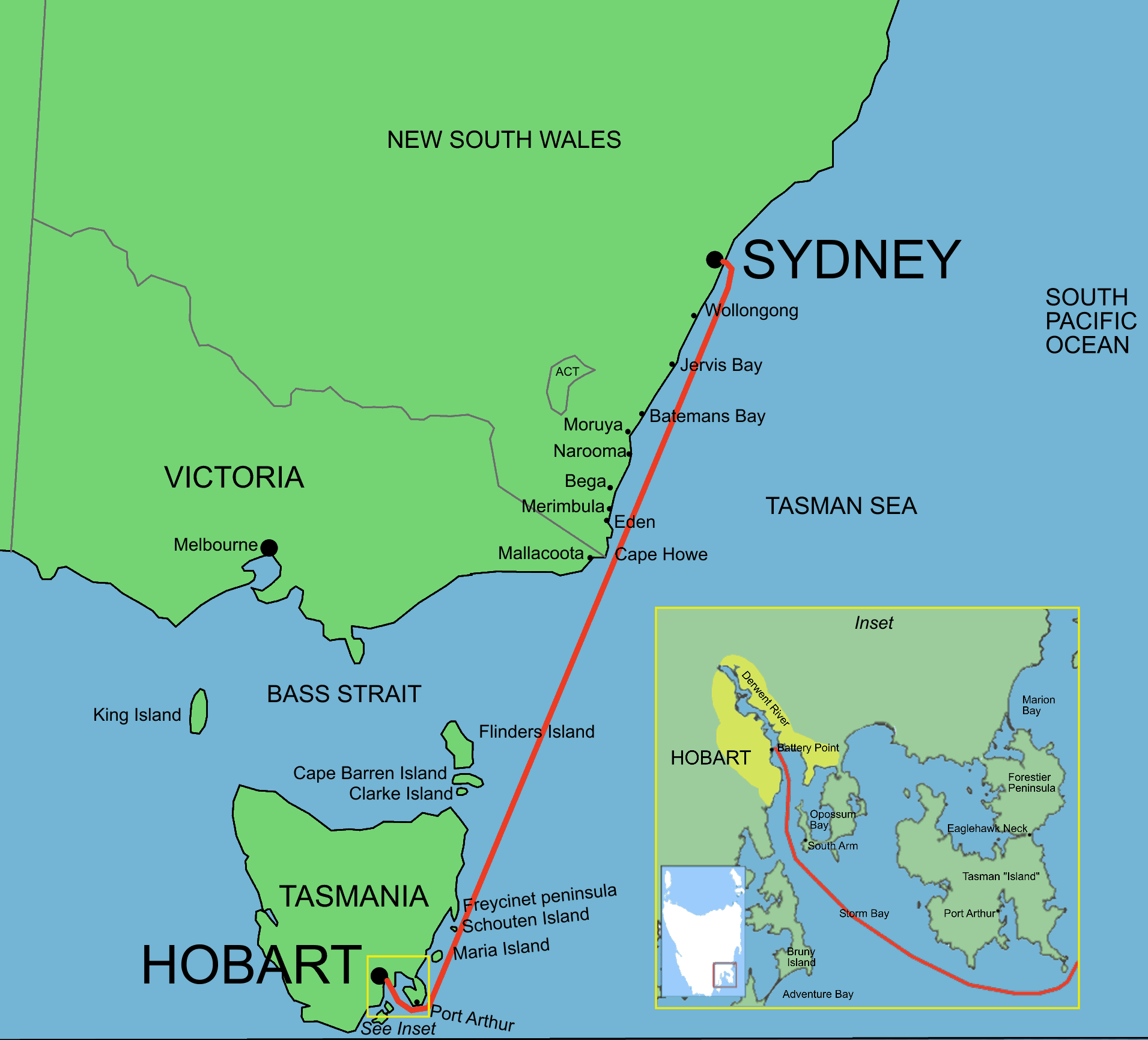 Sydney To Hobart Yacht Race Wikipedia