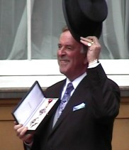 Terry Wogan MBE Investiture cropped