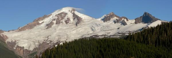 Mount Baker, Washington by Walter Seigmund [5447x1844 ...