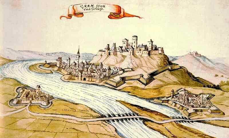 Ottoman city of Estergon in 1664.