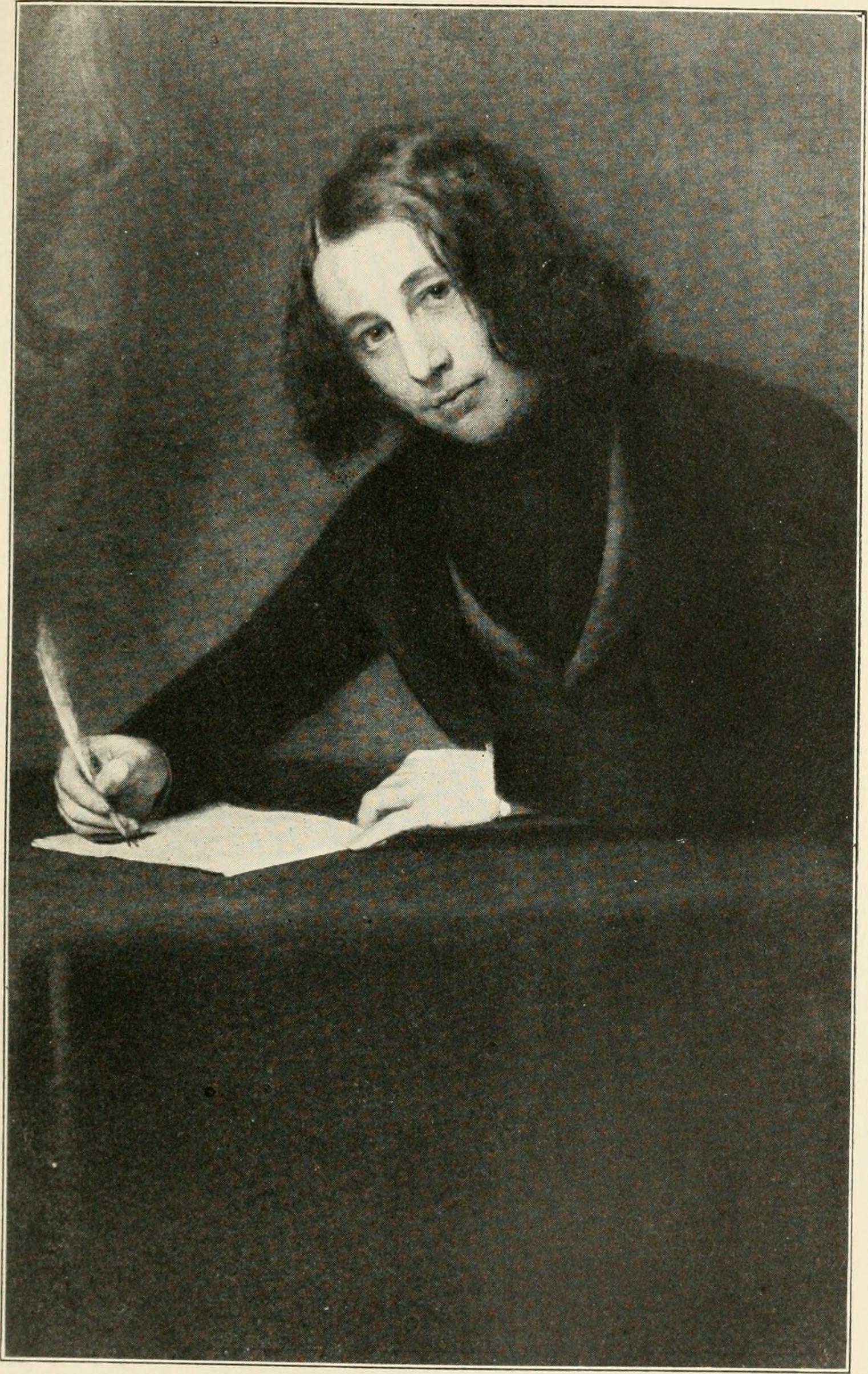 File Charles Dickens From A Portrait By Francis Alexander