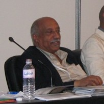 Mulatu Astatke at WSIS! :Cropped by Magnus Man...