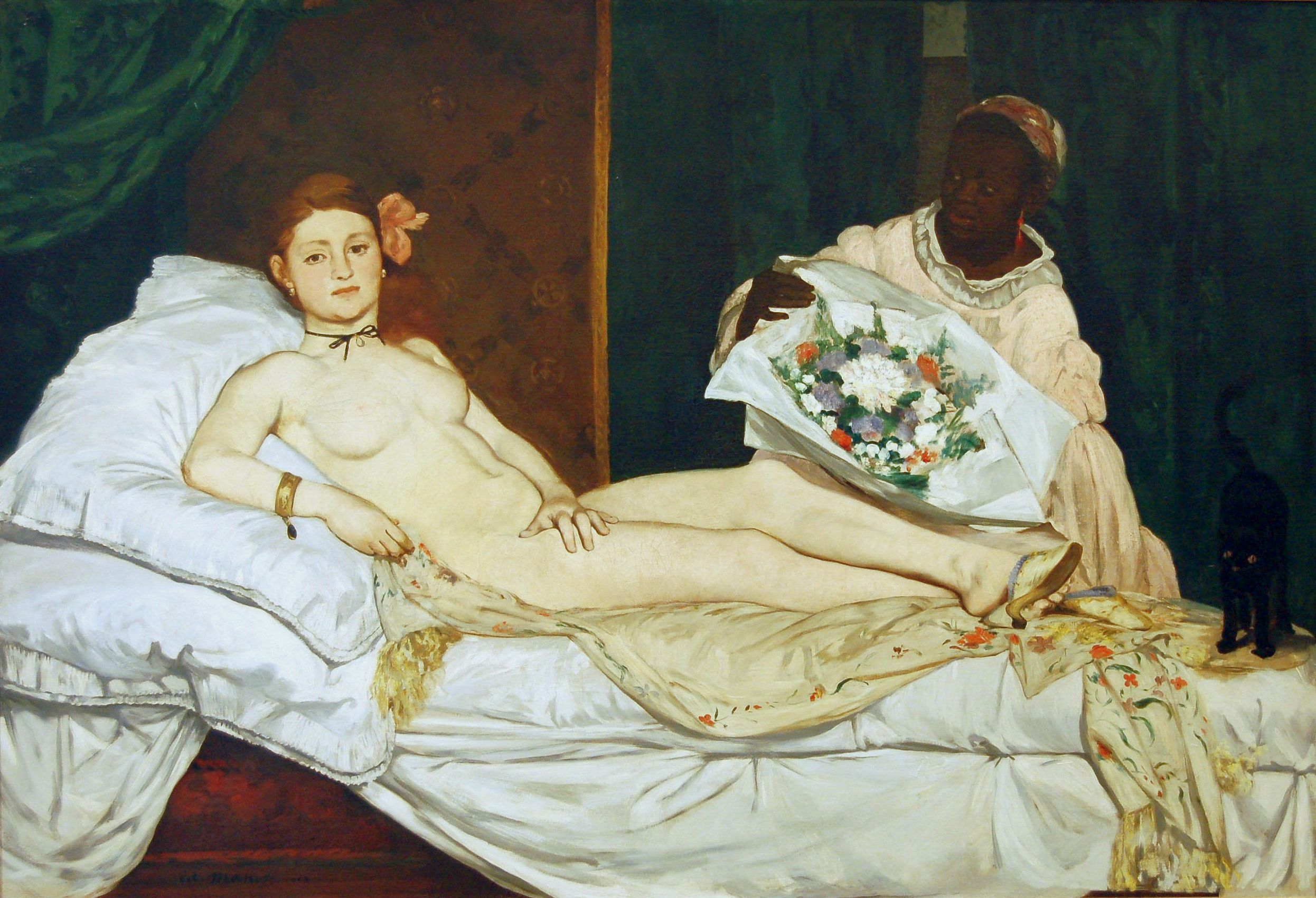 Olympia (1863), Edouard Manet, Musée d'Orsay