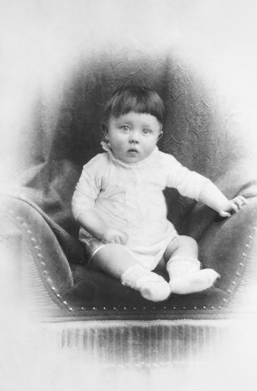 Adolf Hitler as an Infant