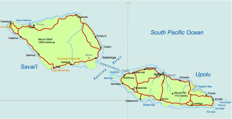 The Islands of Samoa