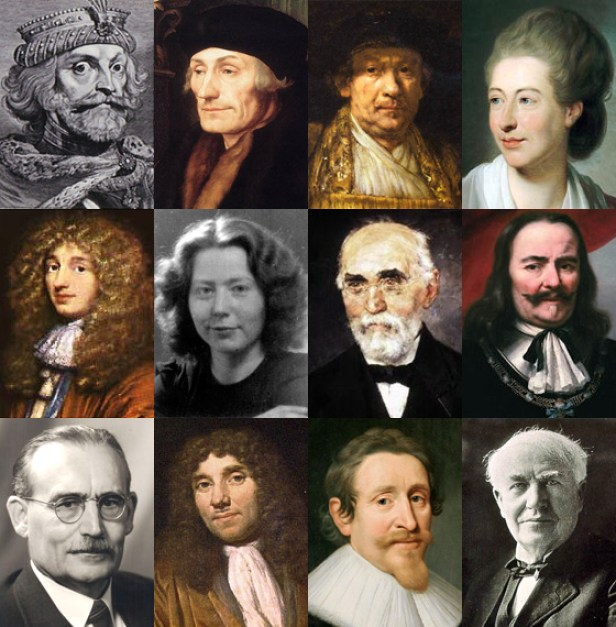Famous Dutch people