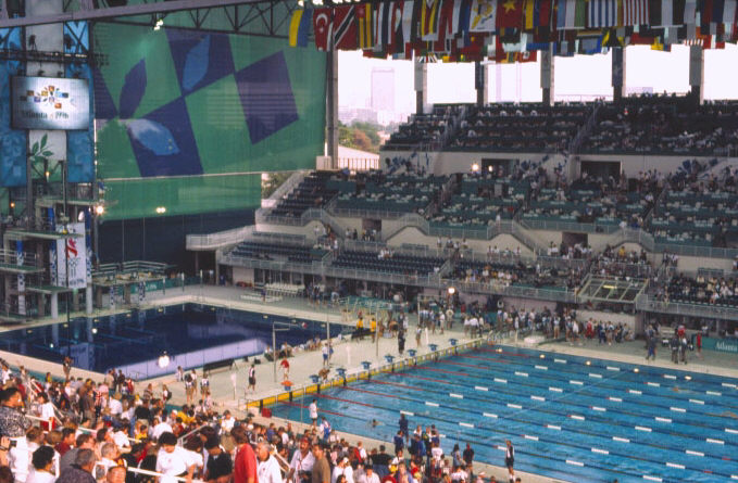 Synchronized Swimming At The 1996 Summer Olympics