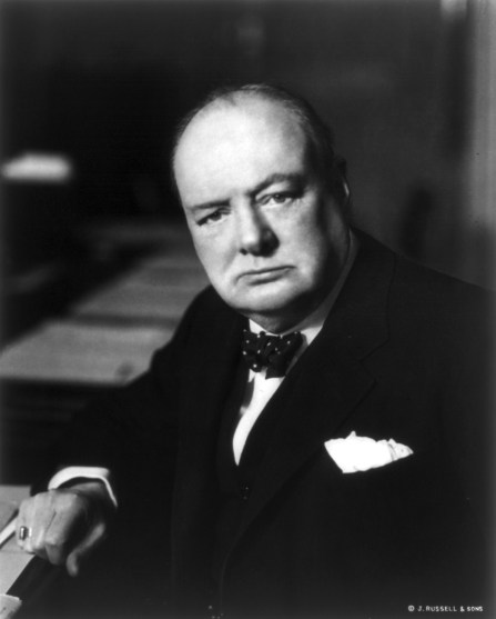 Photo of Winston Churchill