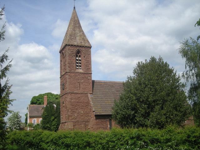 St John the Baptist parish church, Withington, Shropshire