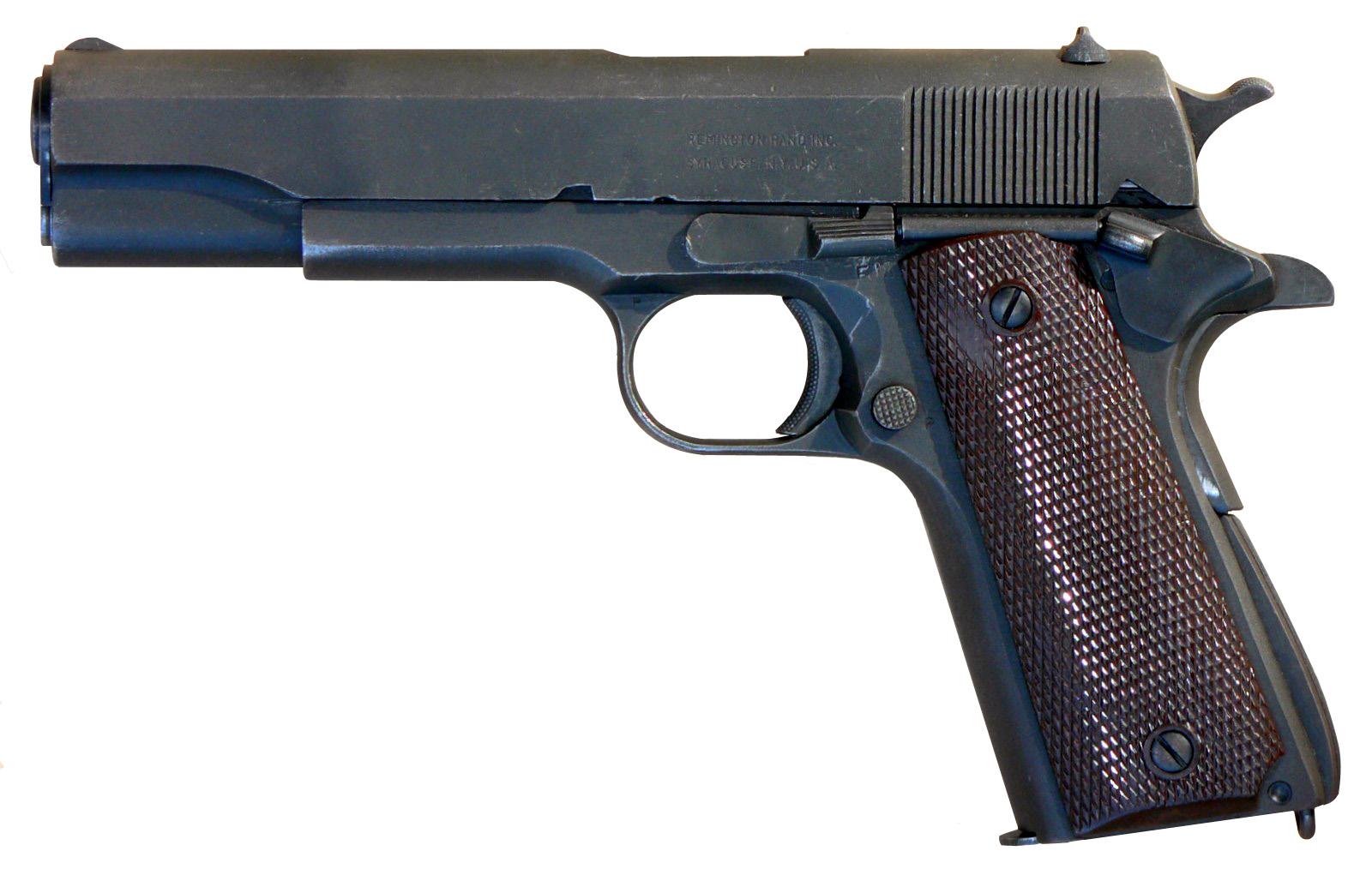 M1911A1 Pistol, image courtesy M62