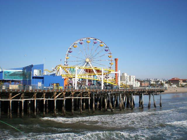Santa Monica Beach Pier (5)