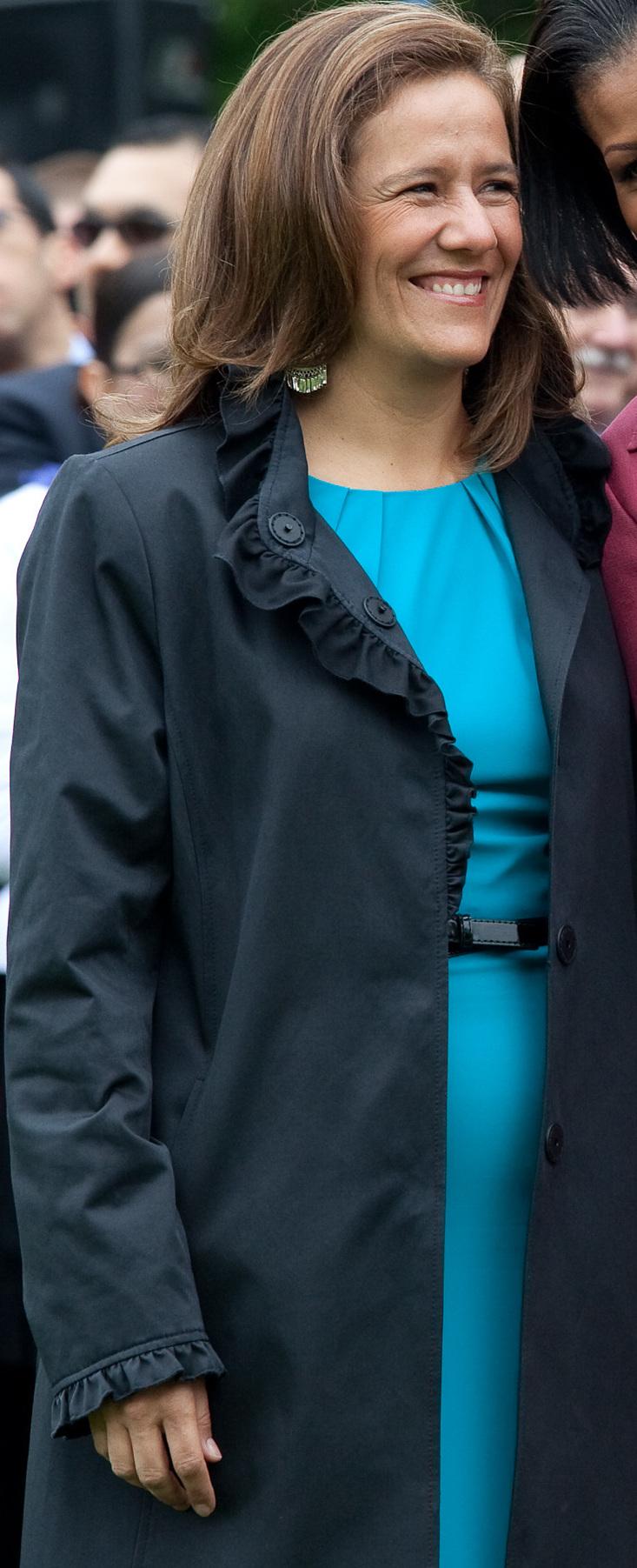 Margarita Zavala, poltica mexicana, esposa del...