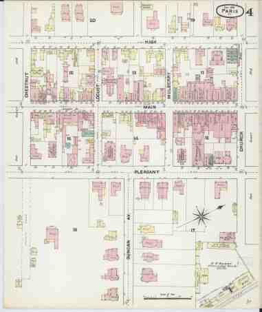 File Sanborn Fire Insurance Map From Paris Bourbon County Kentucky Loc Sanborn03227 002 4 Jpg Wikimedia Commons