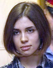 Nadezhda Tolokonnikova (Pussy Riot) at the Moscow Tagansky District Court (crop).jpg