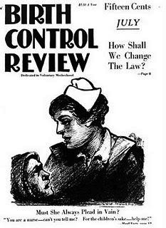 English: Cover of Birth Control Review July 19...