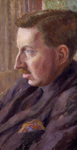 E. M. Forster von Dora Carrington, 1924-25