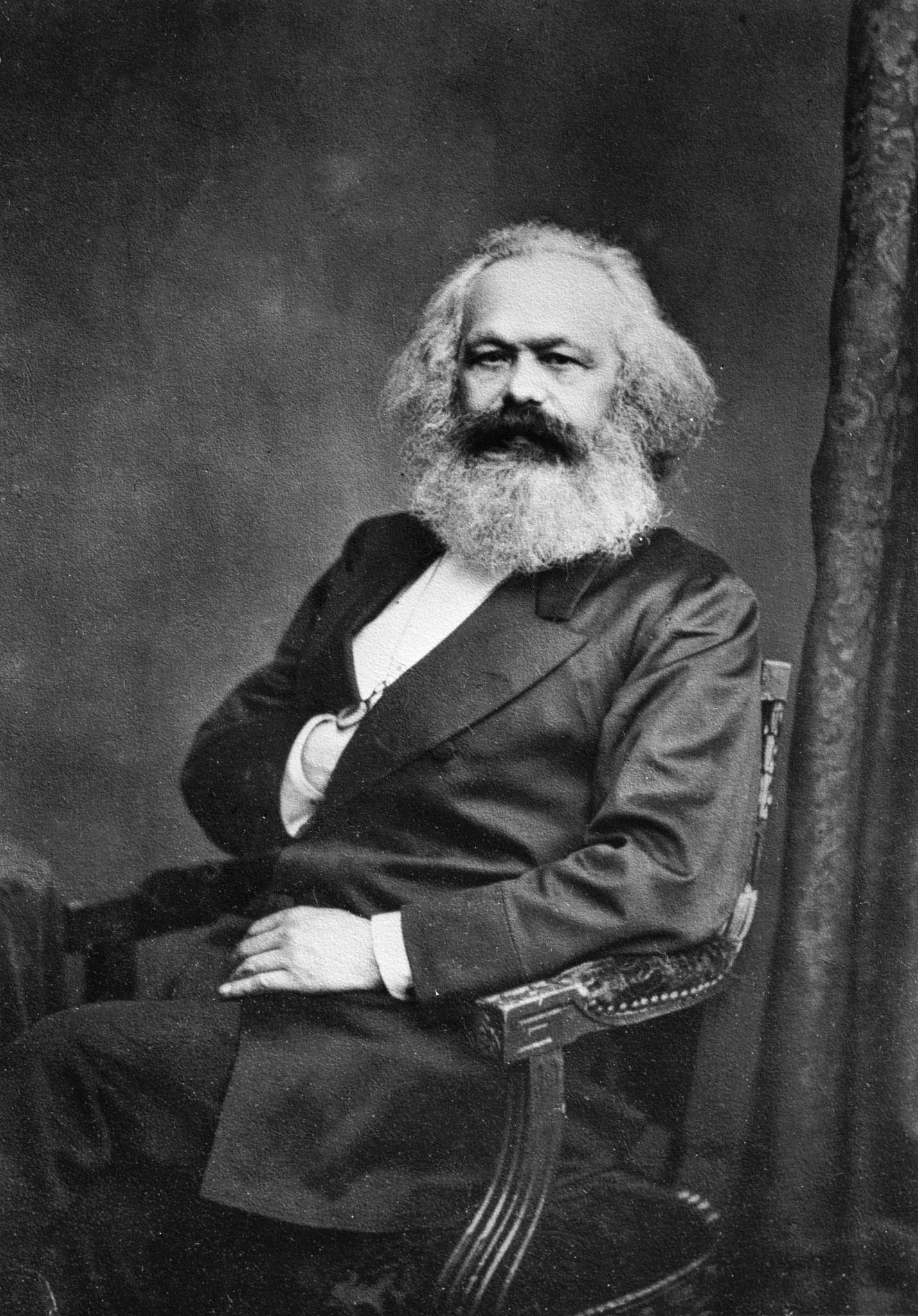 Karl Marx (courtesy of Wikipedia)