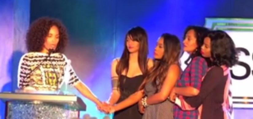 Mara Brock Akil and Girlfriends cast