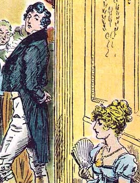 Detail of a C. E. Brock illustration for the 1...
