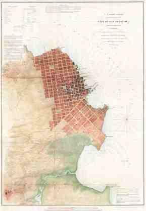 File 1853 U S C S Map Of San Francisco California Vicinity Geographicus Sanfrancisco3 Uscs 1853 Jpg Wikimedia Commons