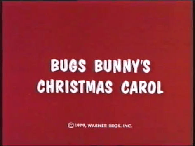 Bugs Bunnys Christmas Carol Wikipedia