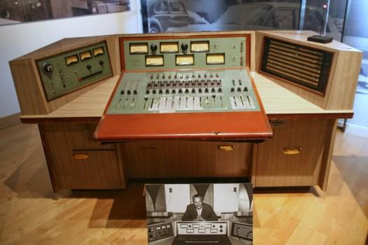 Owen Bradley's Quonset Hut Studio Console