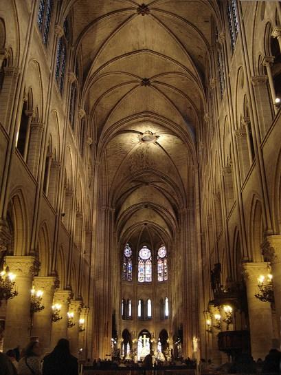 Interior Catedral Notre DAame