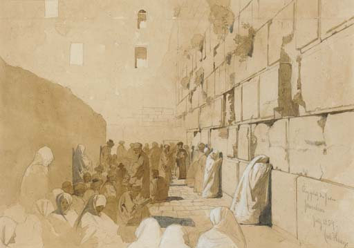 File:Carl Haag The Wailing Wall 1859.jpg