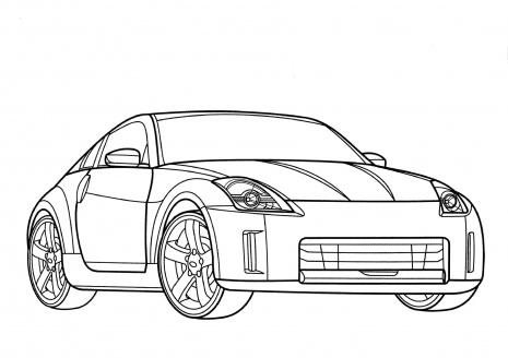 Kleurplaten Auto Ford Mustang.Kleurplaat Ford Mustang 7 Modern Home Revolution