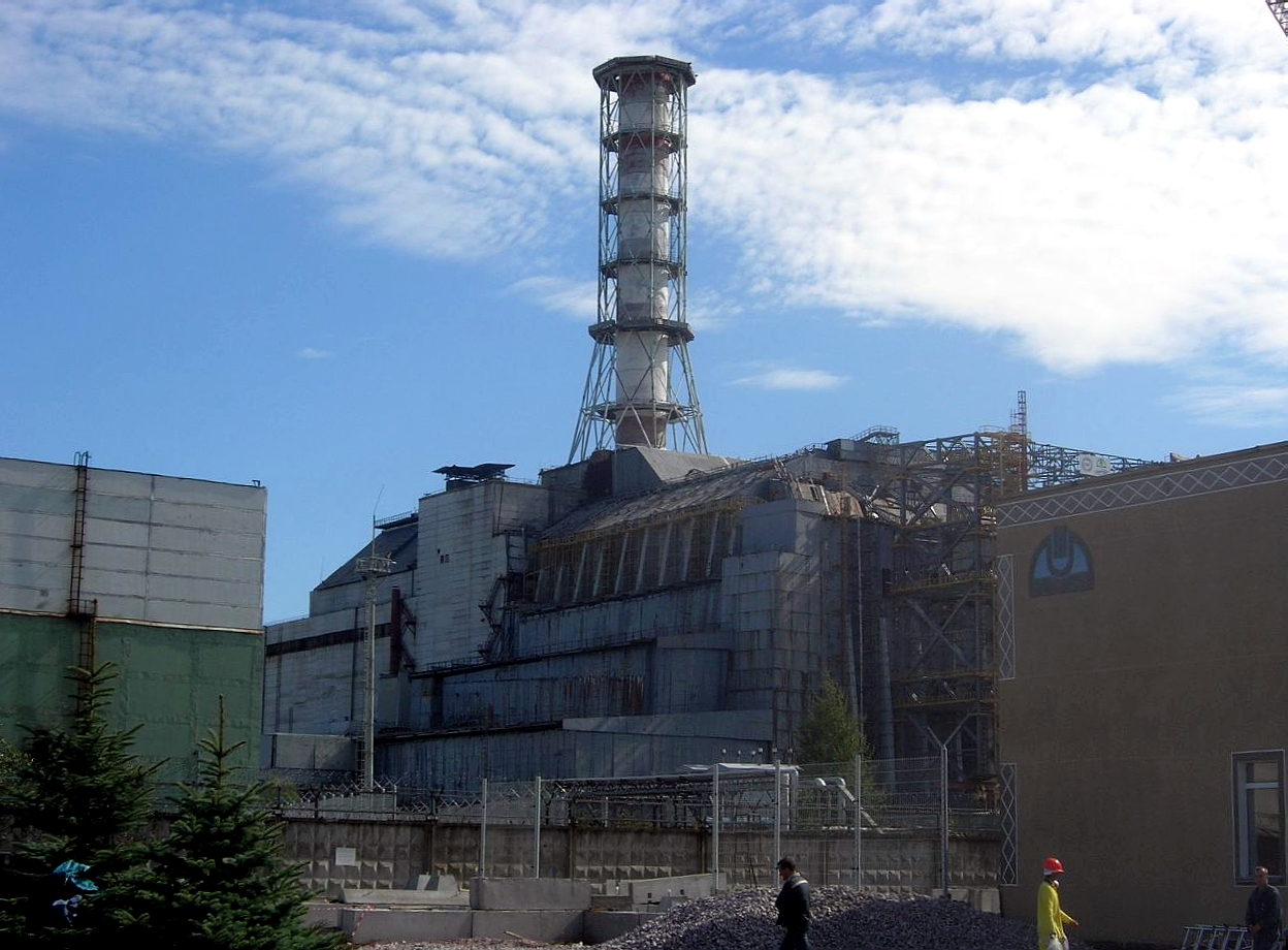 Reaktorblock 4 im AKW Tschernobyl
