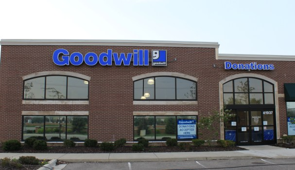 English: Goodwill Industries thrift shop, 4193...