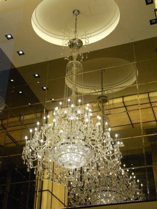 File Hk Tst Hanoi Road K11 香港凱悅酒店 Hyatt Regency Night Hotel Lobby