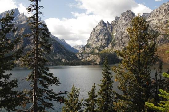 Jenny Lake Trail in Wyoming