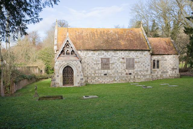 Standlynch chapel, Trafalgar Park, Wiltshire