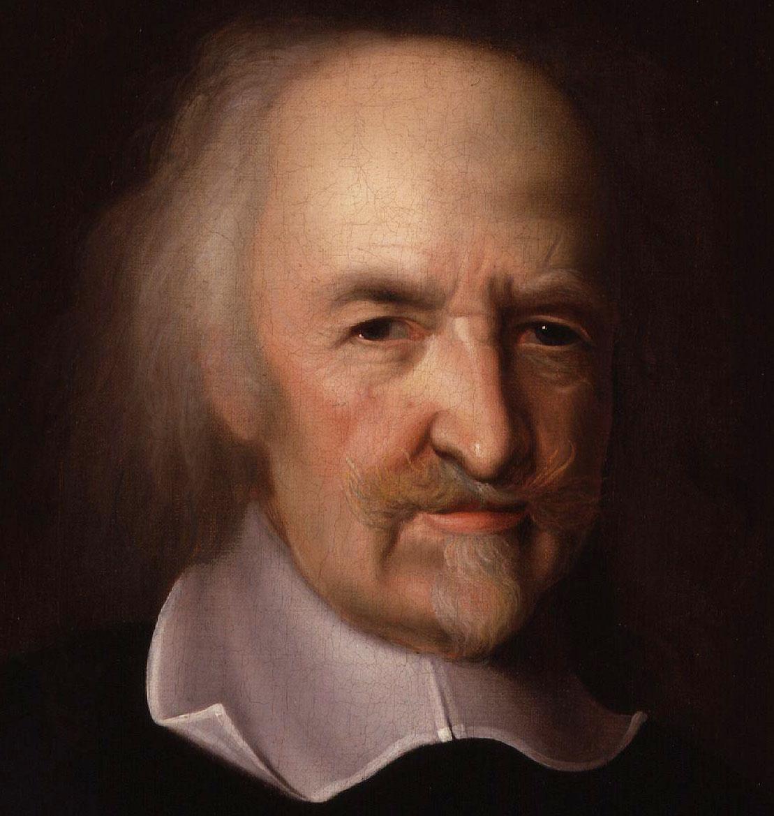 Portaretrato de Thomas Hobbes