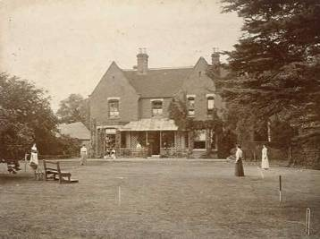 Borley Rectory in 1892