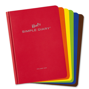 Fan image of the different Simple Diary covers.