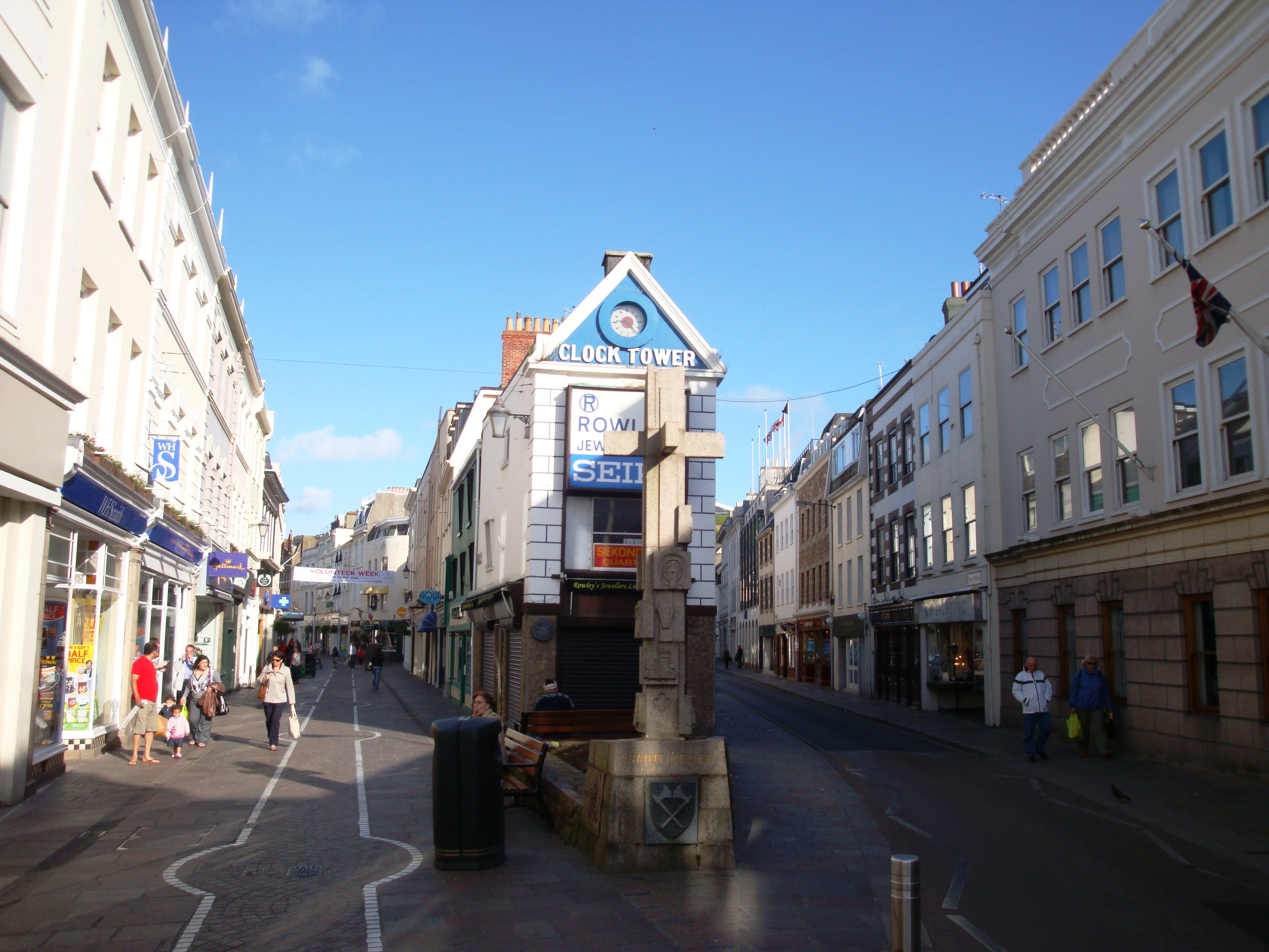 FileStreets St Helier Jersey Panoramiojpg