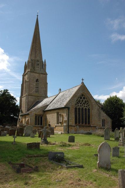 St Thomas of Canterbury parish church, Todenham, Gloucestershire